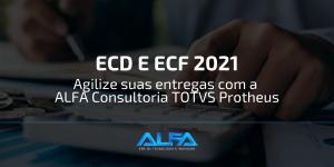 ECD e ECF Consultoria totvs Protheus